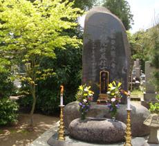 堀部安兵衛の実母(るい)墓石