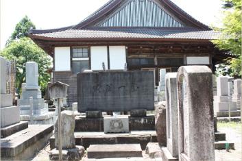 窪田平兵衛武文(節斎)の墓